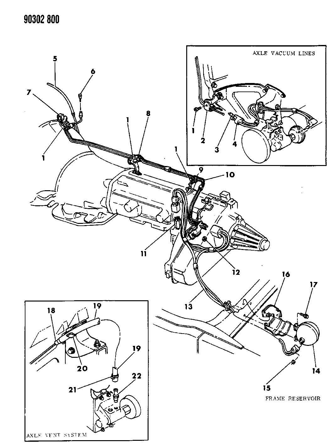 Dodge Dakota Disconnect Assy Front Axle Transfer