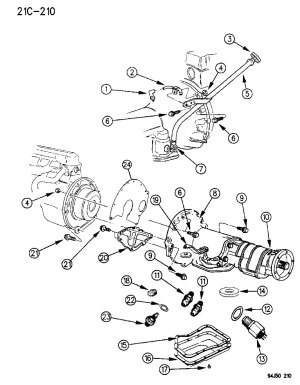 1995 Jeep grand cherokee transmission diagram