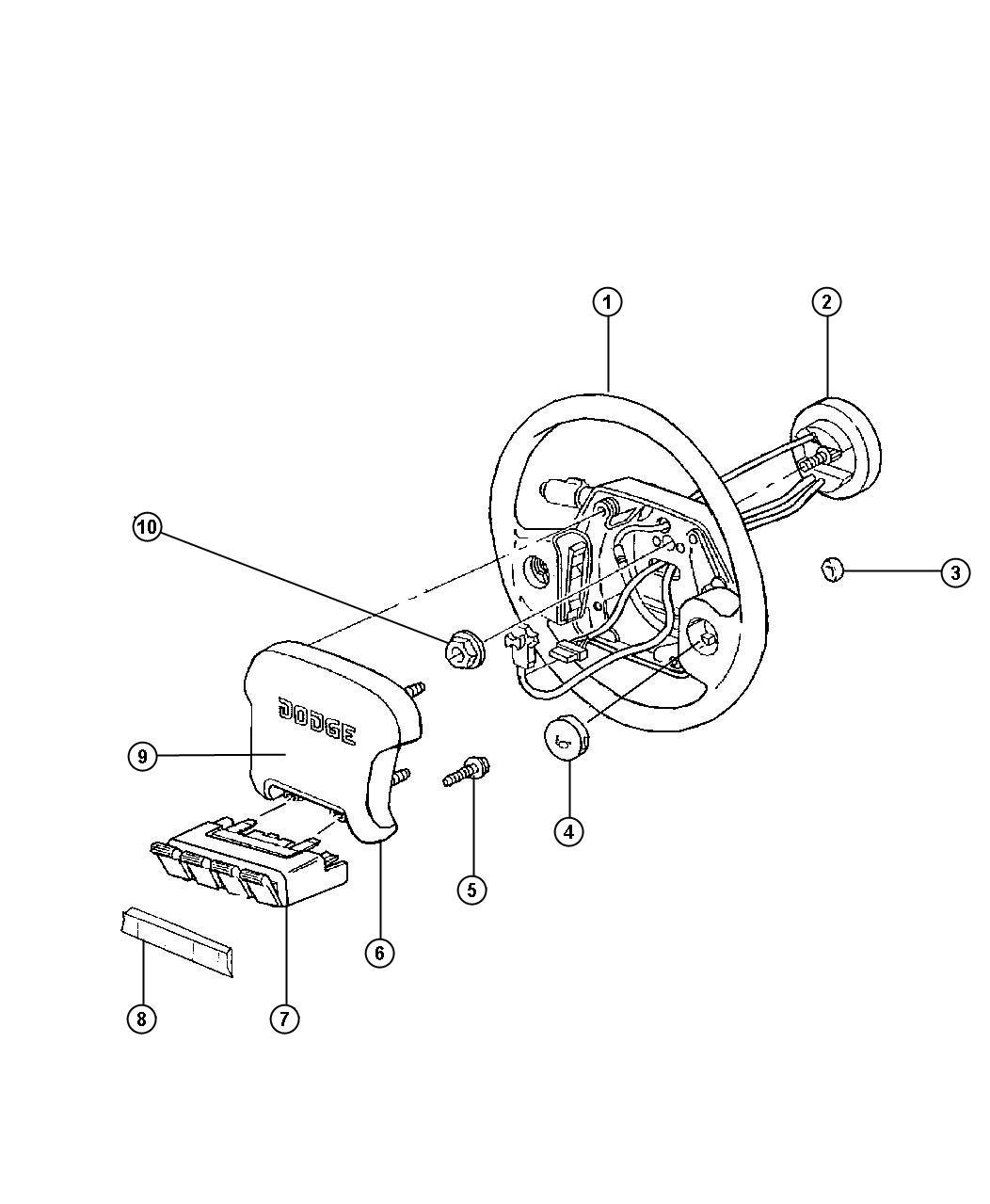 Dodge Ram Wheel Steering