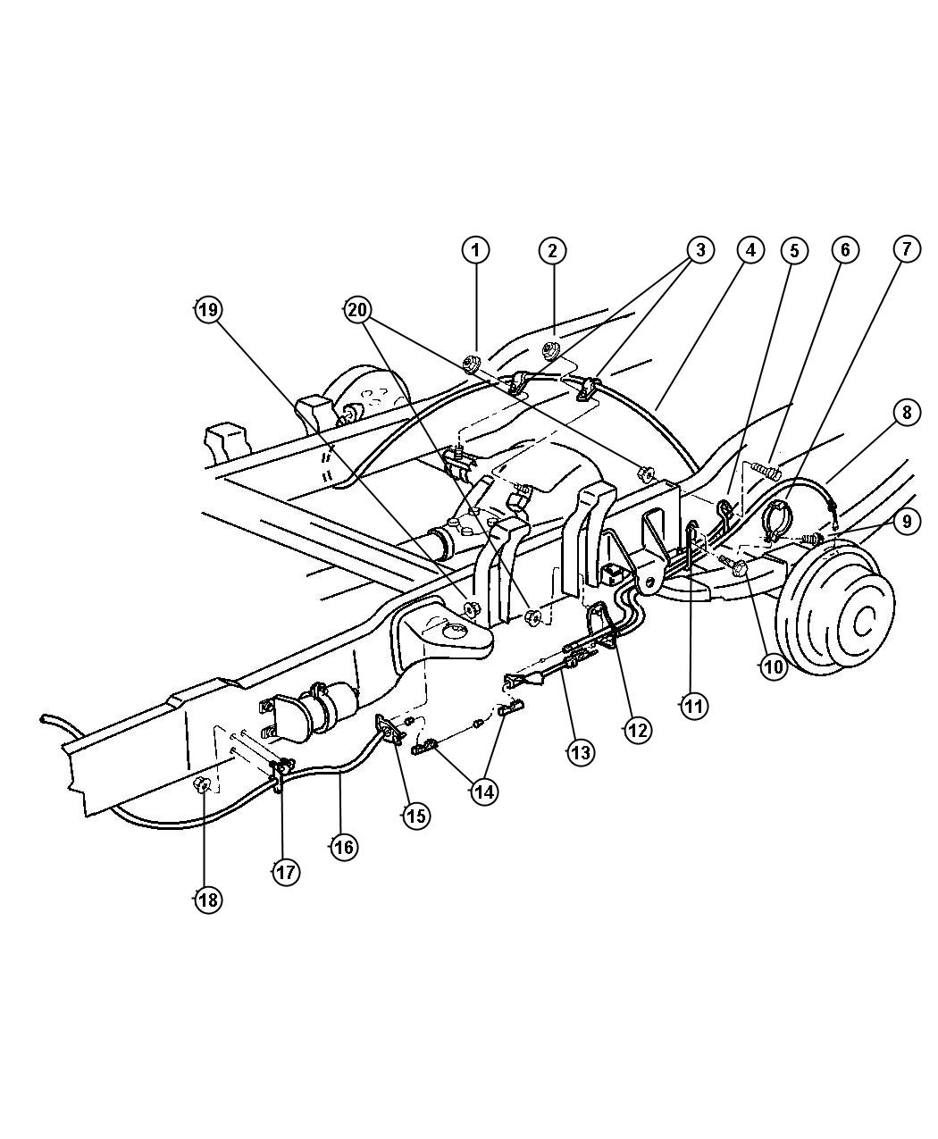 Dodge Ram Brake Line Diagram Pictures To Pin