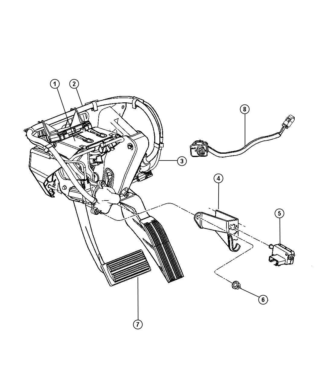 Pedal Brake Power Adjustable