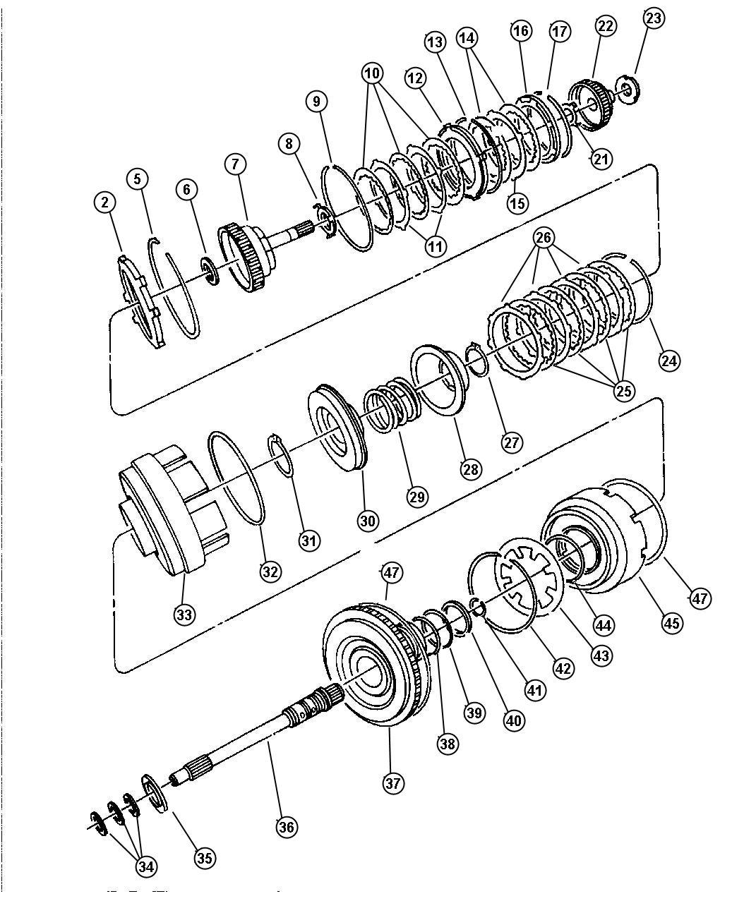 Th400 Input Shaft Seal | Wiring Diagram Database
