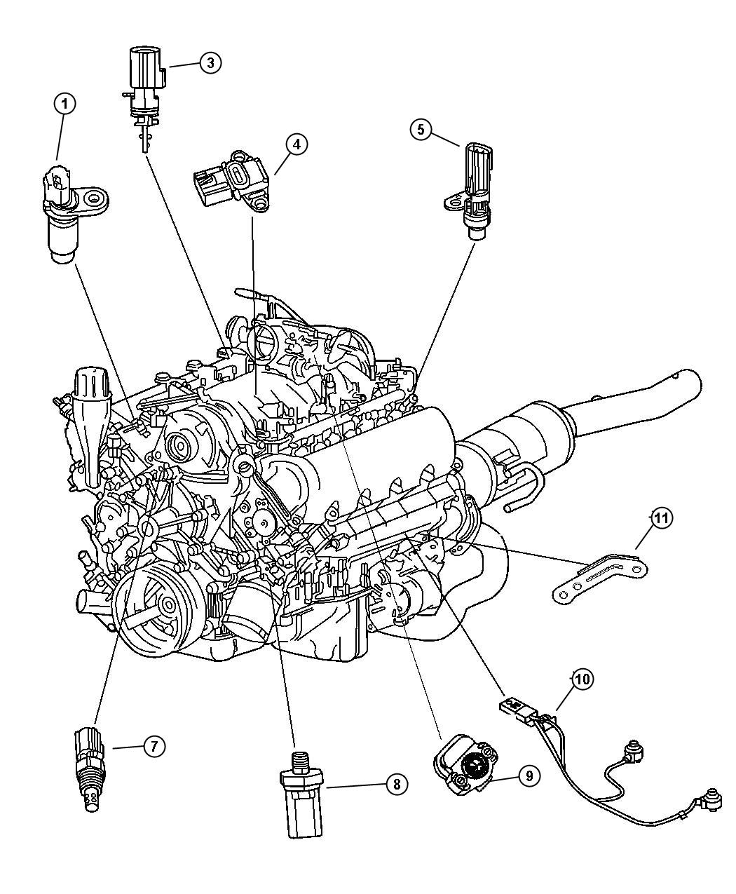 2006 dodge dakota o2 sensor wiring