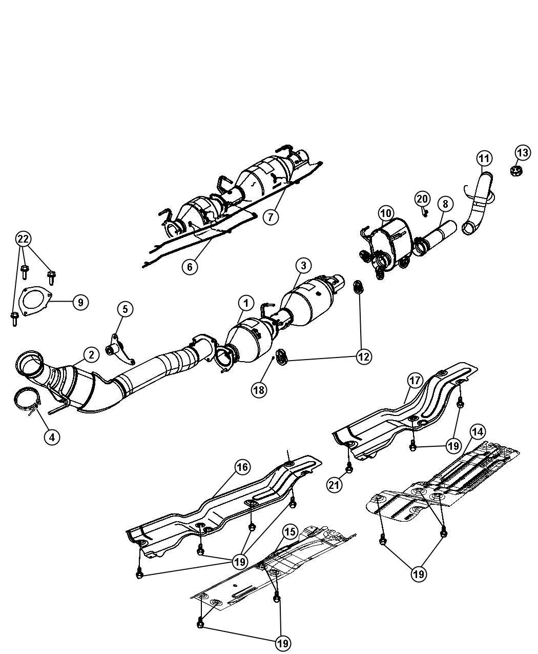 Dodge Ram Exhaust System 6 7l Etj