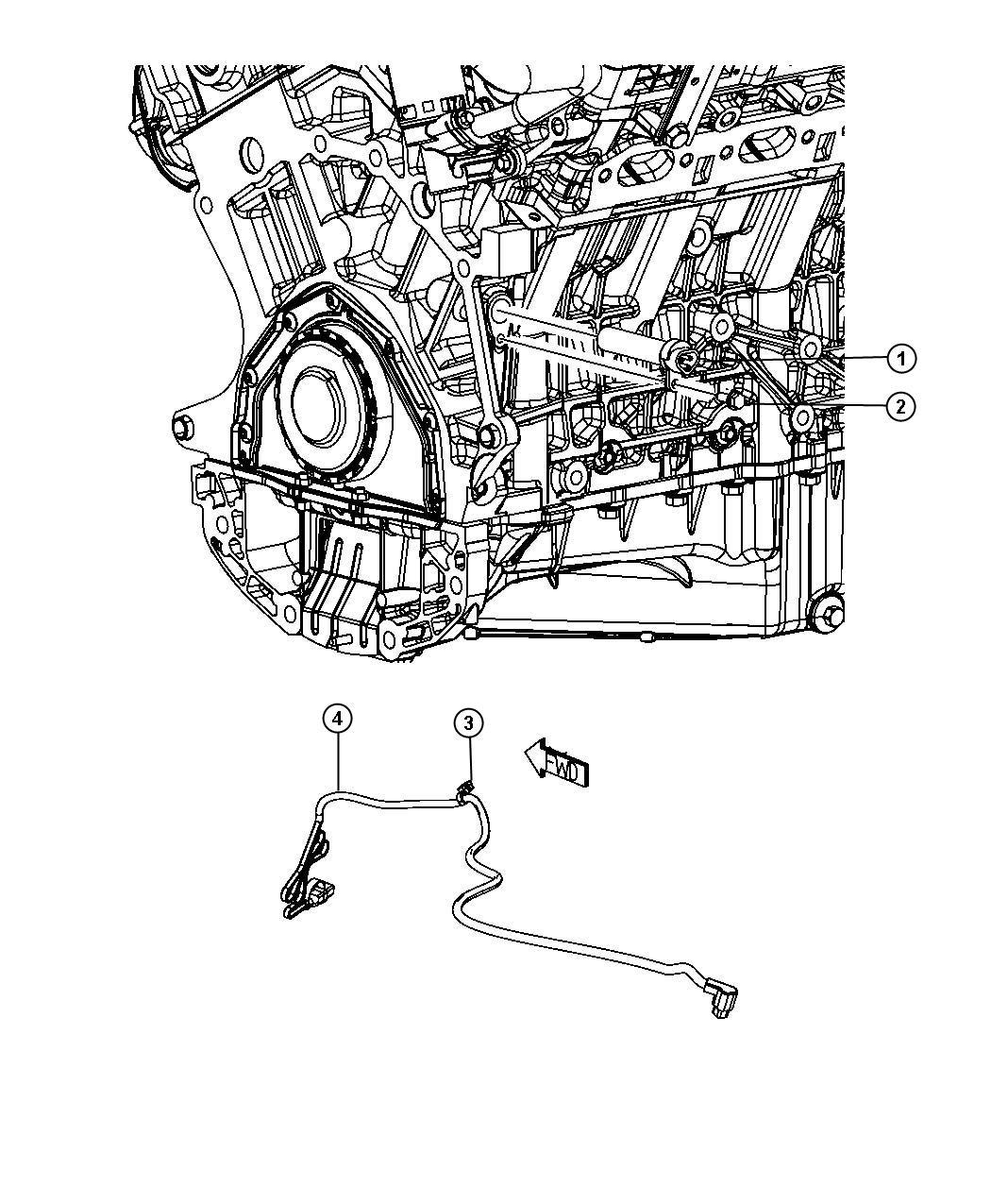 Dodge Journey Engine Cylinder Block Heater 3 5l Egf