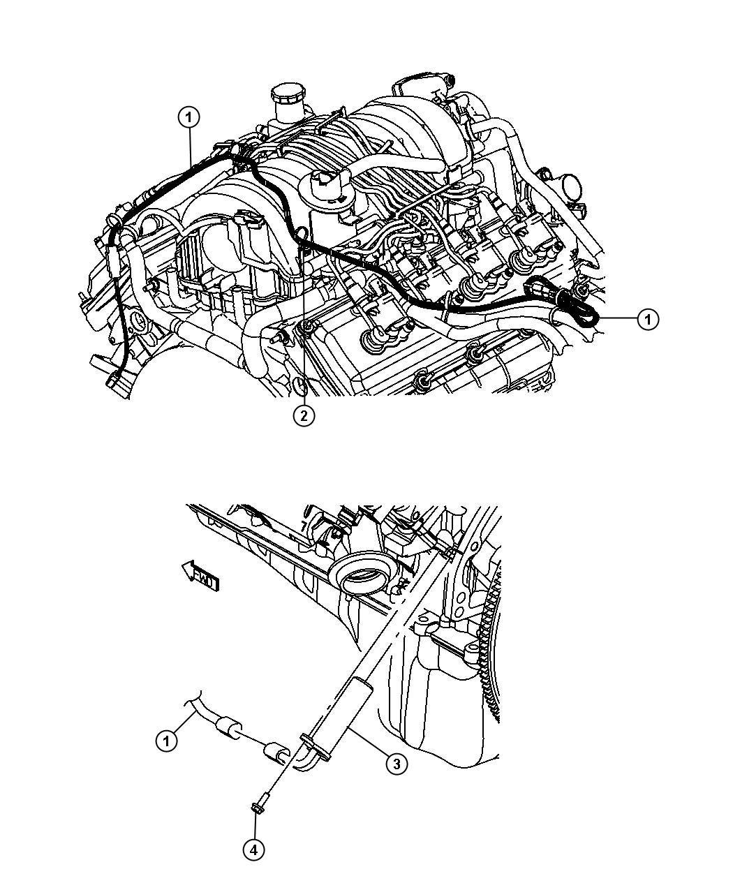 Dodge Charger Rwd Str8 6 4l V8 Srt Hemi Mds 5 Speed Auto W5a580 Engine Cylinder Block Heater 6