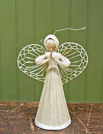 Abaca Straw Cone Angel Doll Making Supplies Craft Supplies