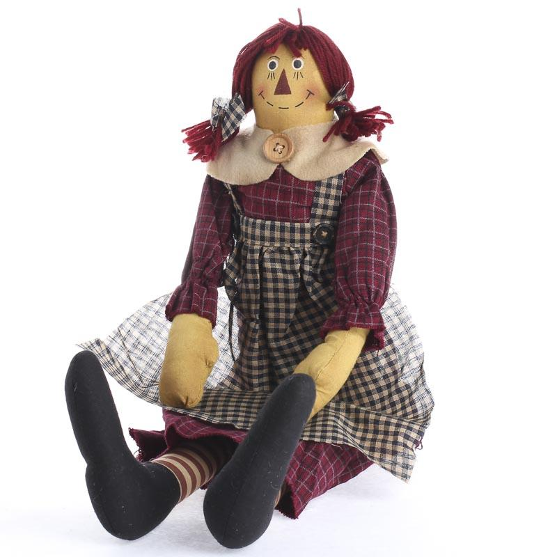 Primitive Raggedy Ann Doll Primitive Dolls Primitive Decor
