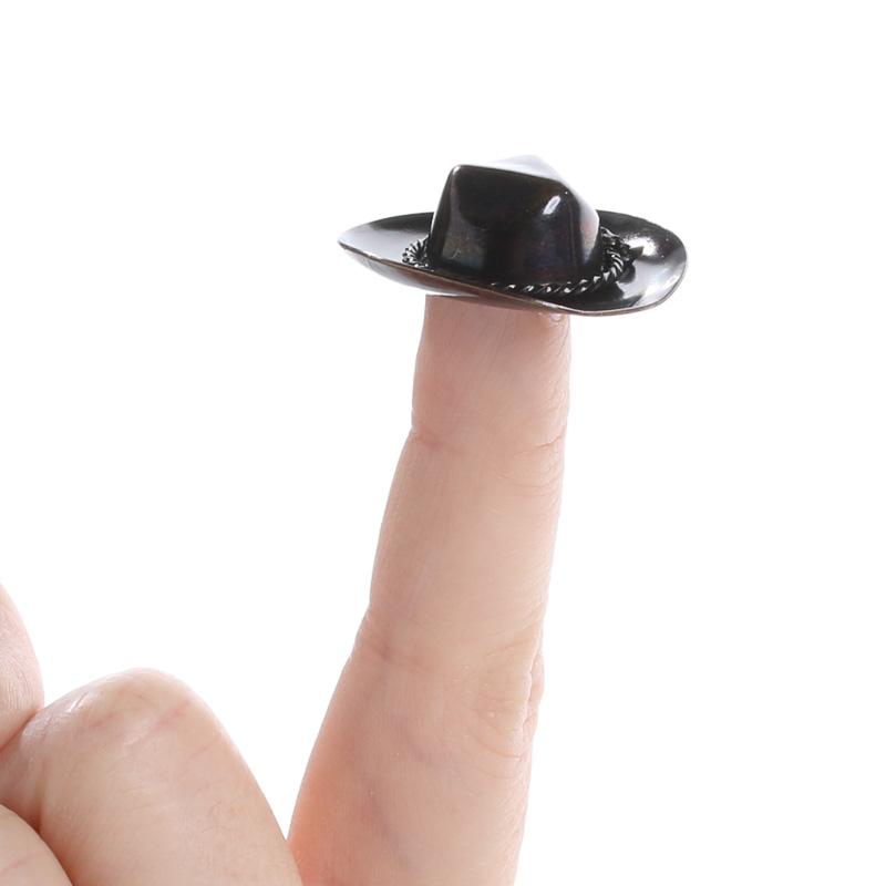 Miniature Cowboy Hat Doll Hats Doll Making Supplies