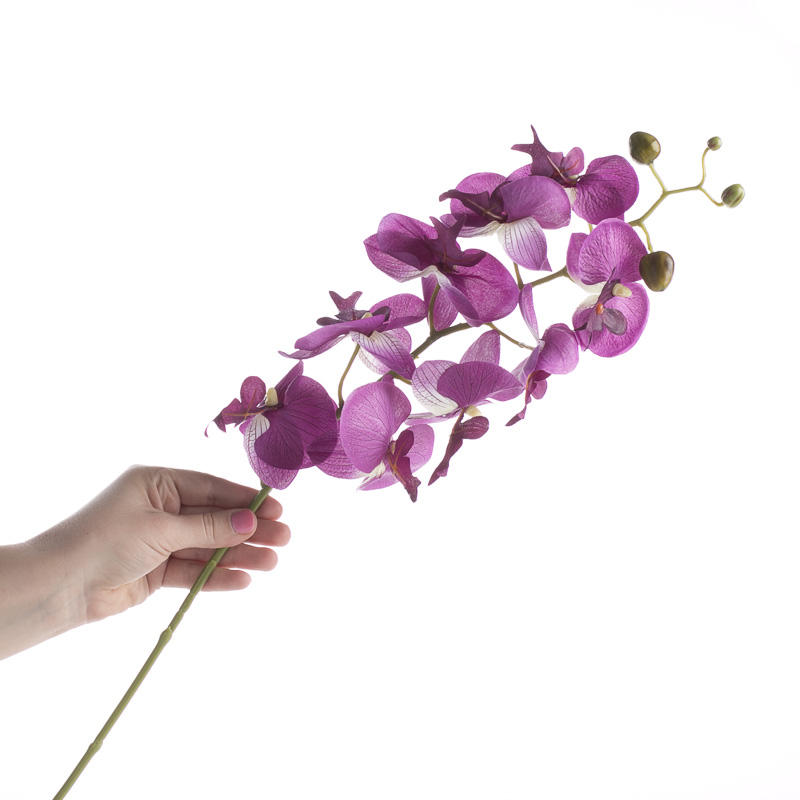Purple Artificial Orchid Stem Picks And Stems Floral