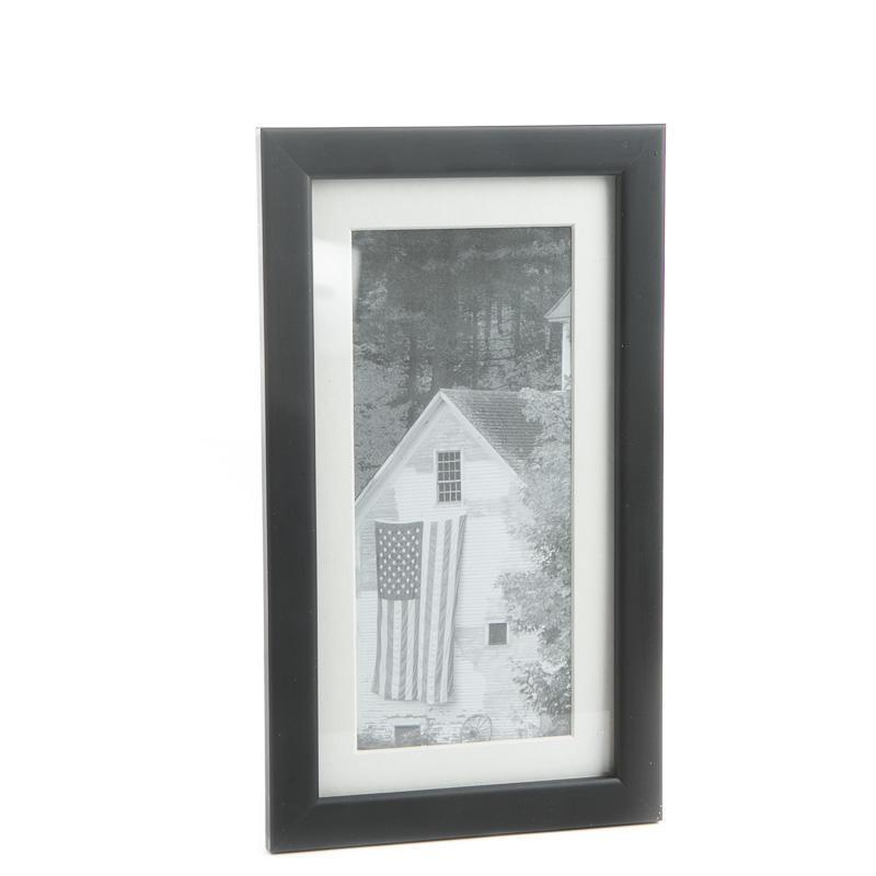 Black And White Americana Farm House Framed Print