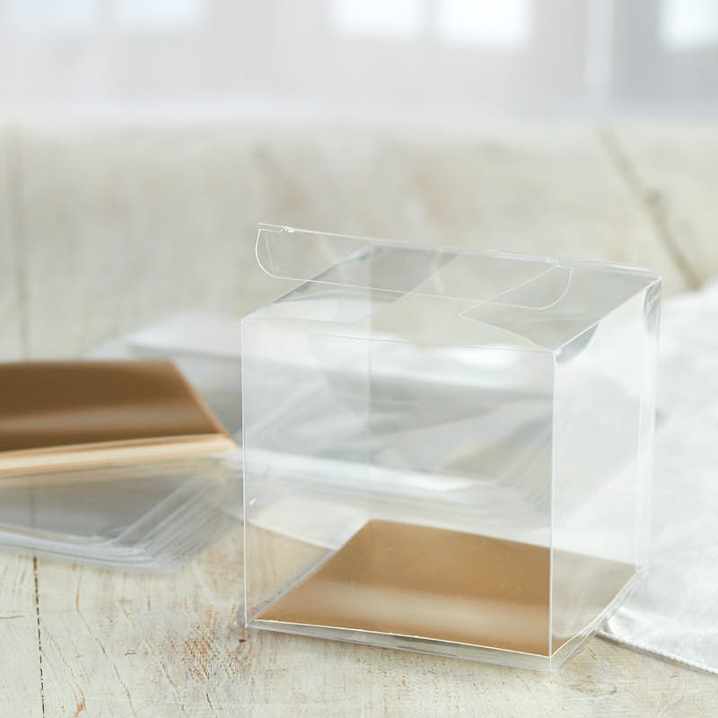 Clear Gift Boxes Gift Bags Favor Bags Party Supplies