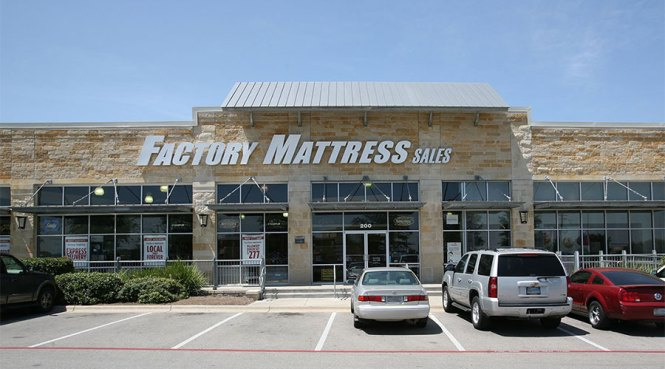Mattress Factory Location At 9900 S Ih 35 Austin Tx 78748