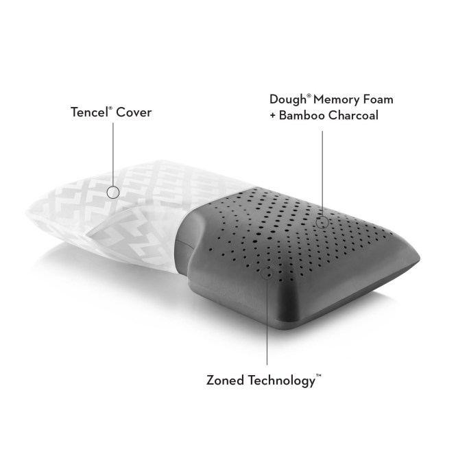Shoulder Zoned Dough Bamboo Charcoal Pillow Factory Mattress Bedrooms