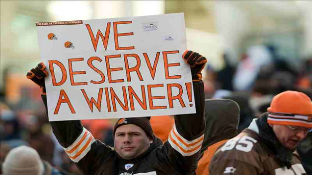 Image result for sad cleveland browns fans