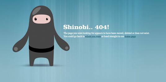 error CSS ninja