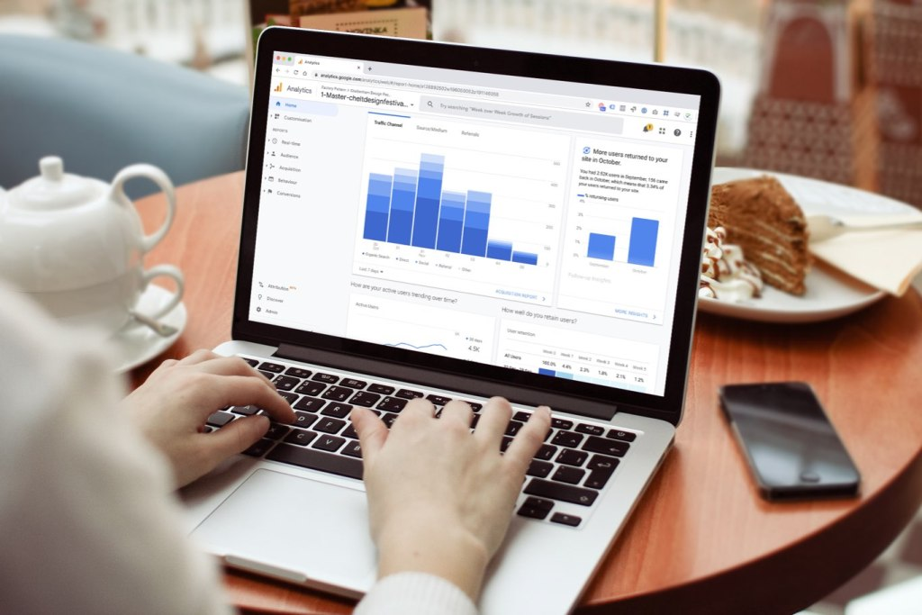 Google Analytics on a macbook
