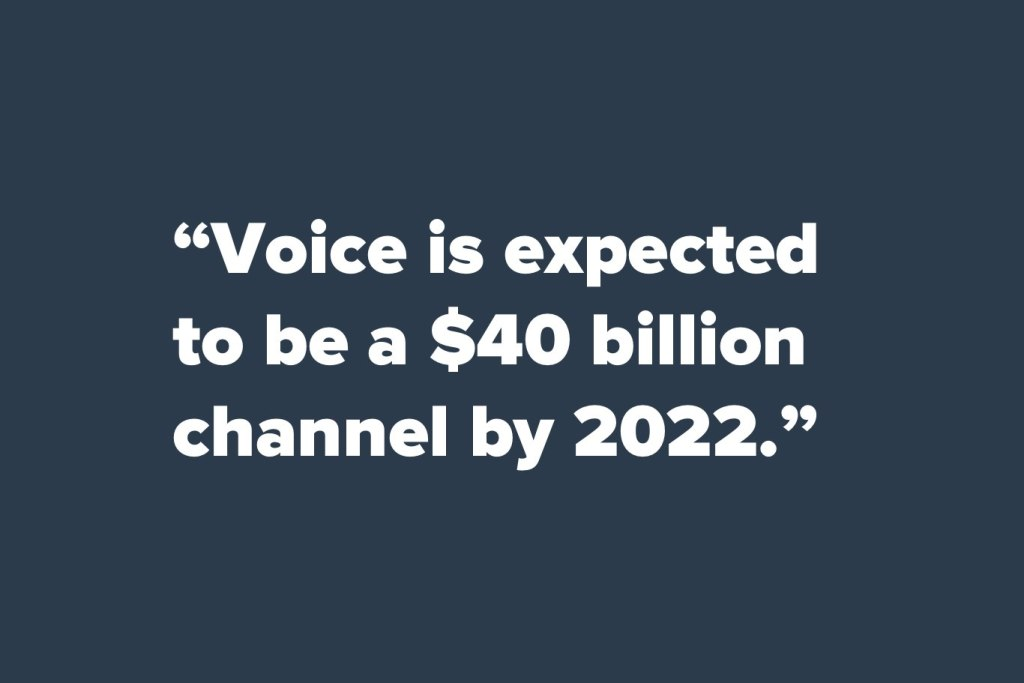 Voice search statistic