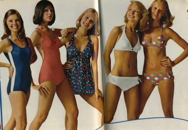 1c06eb633684e 1970 s Swimwear   Beach Culture - Factory Vintage