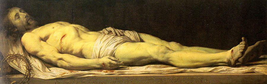 Dead Christ by Champaigne (Jesus Christ Resurrection)