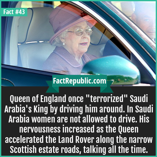 43-queen-driving-Queen of England once