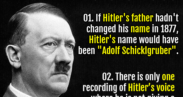 100 Interesting Facts About Hitler Fact Republic