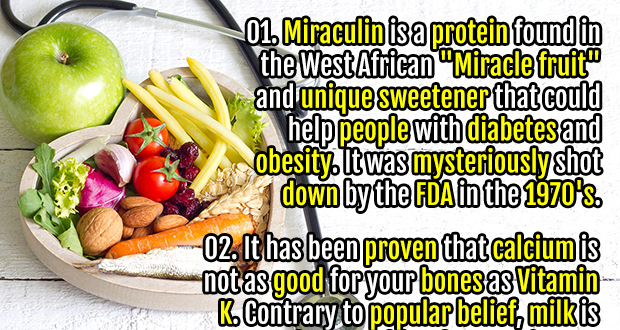 40 Interesting Nutrition Facts You Have To Know
