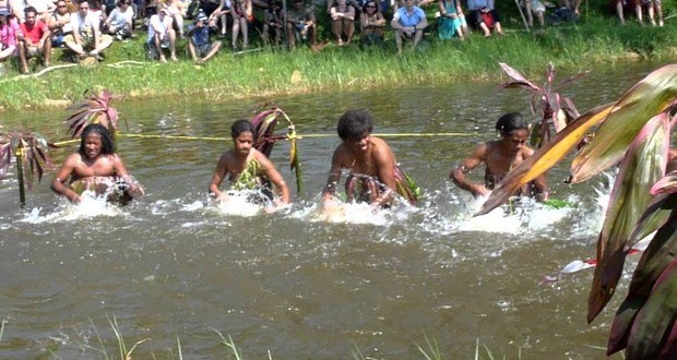 Liquindi: The art of Playing The River Like A Drum To Make Beautiful Music