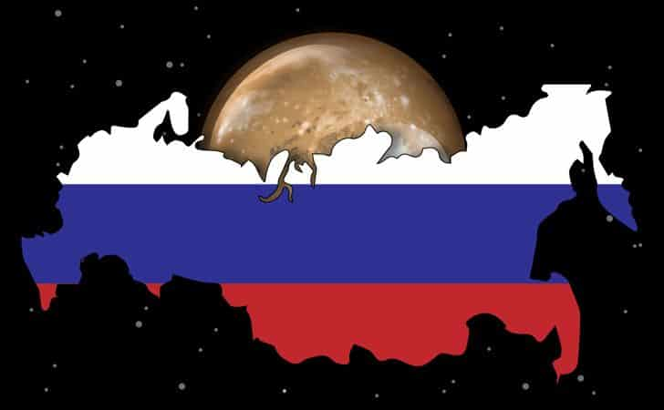 Russia has more surface area than Pluto