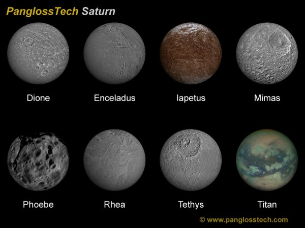 Saturn Moons List Names and Pictures page 2 Pics