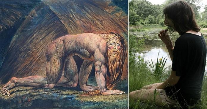 King Nebuchadnezzar, boanthropy person