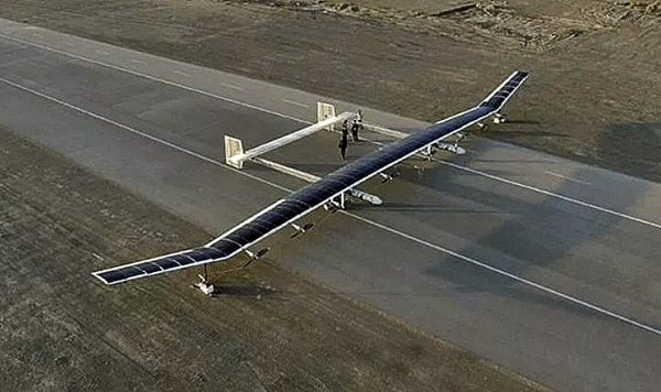 Caihong China's Solar Powered Aircraft