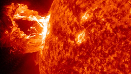 Coronal mass ejection CME