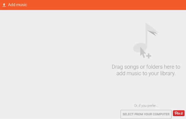 Copying Songs to Google Play