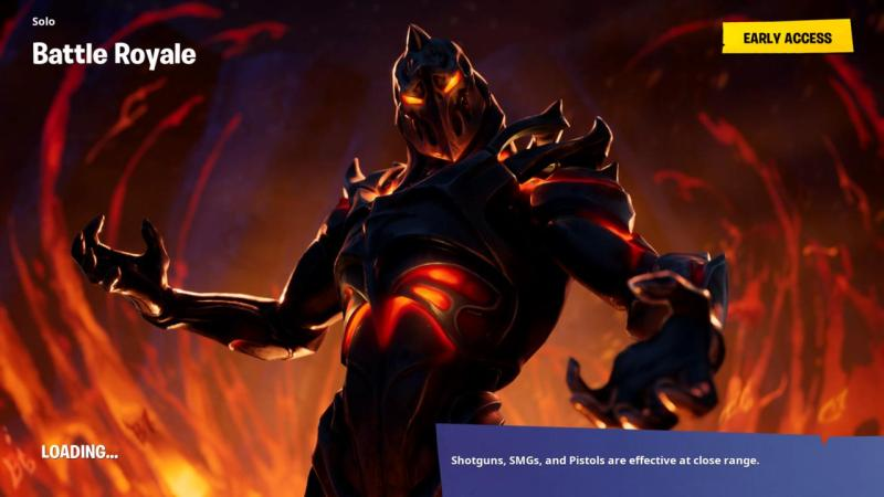 Fortnite Week 8 loading screen