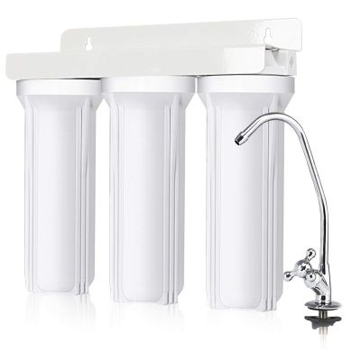 COSTWAY 3-Stage Under-Sink Water Filter System