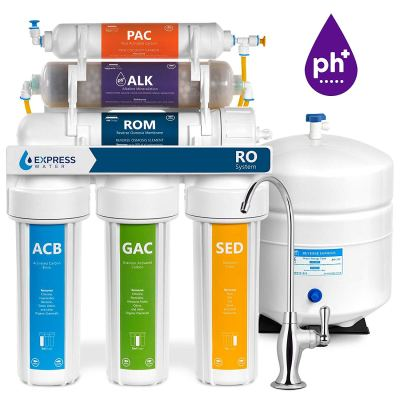 Express Water Alkaline RO Water Filtration System ROALK5D