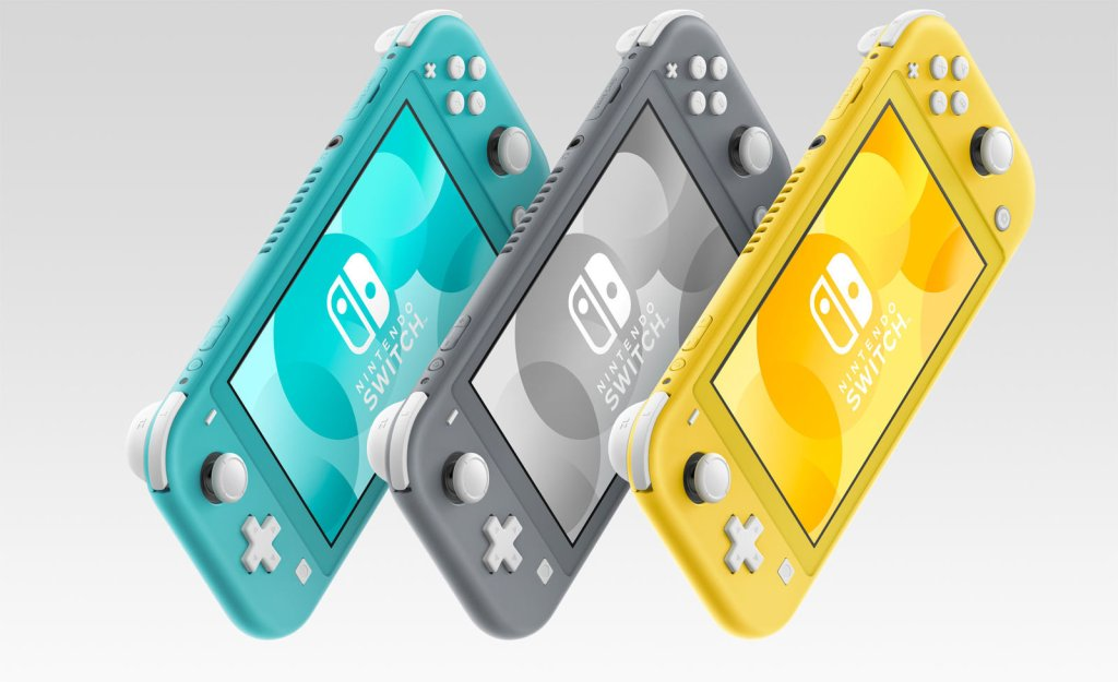 Switch Lite Colours