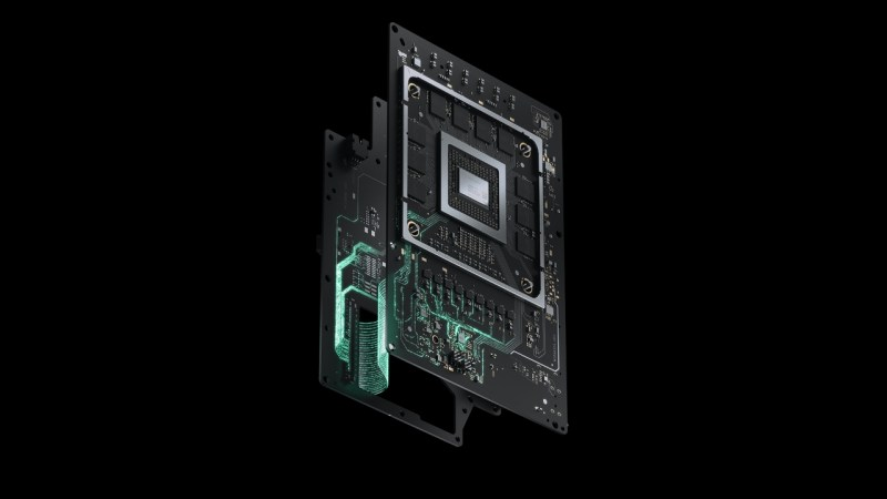 xbox series x motherboard