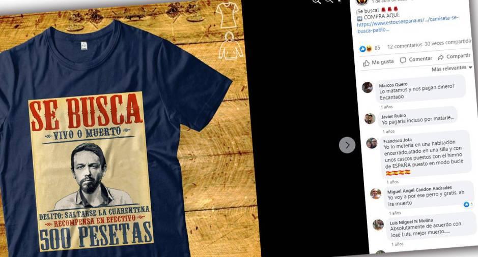 Imagen de la página de Facebook de la tienda online Esto es España.