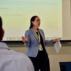 Image of Dr. Kuerbis Teaching