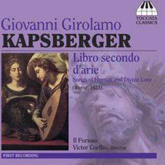 Kapsberger CD Cover