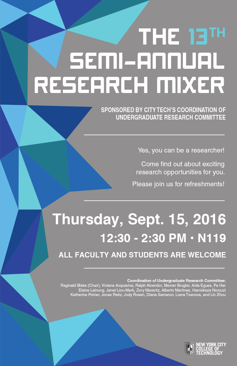 13th Semi-Annual Research Mixer