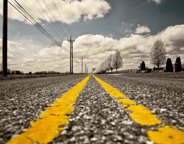 road-mark-on-asphalt