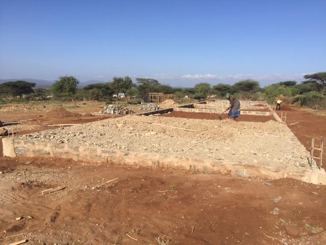 Construction of MELOC Academy Class Rooms