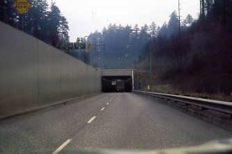 US 26 East (Sunset Hwy). Canyon Road exit. 1974