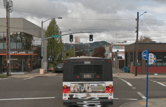 NE. 12th and Couch St. Portland. March, 2015