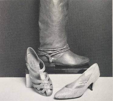 """""""Find a fabulous footwear at Footsteps"""" Photo: Cathy Cheney"""