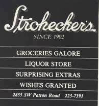 1988 Stroheckers Ad. They should have continued that little rhyme.