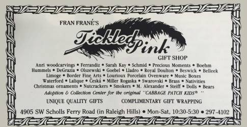 """Tickled Pink was an """"adoption and collection center for the original Cabbage Patch Kids""""!"""